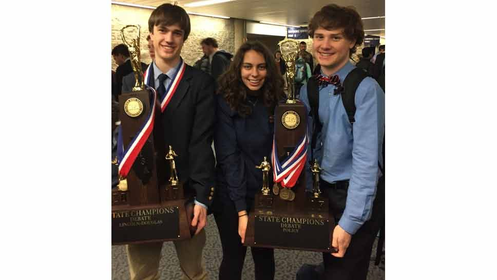 New Trier Tops Debate at State