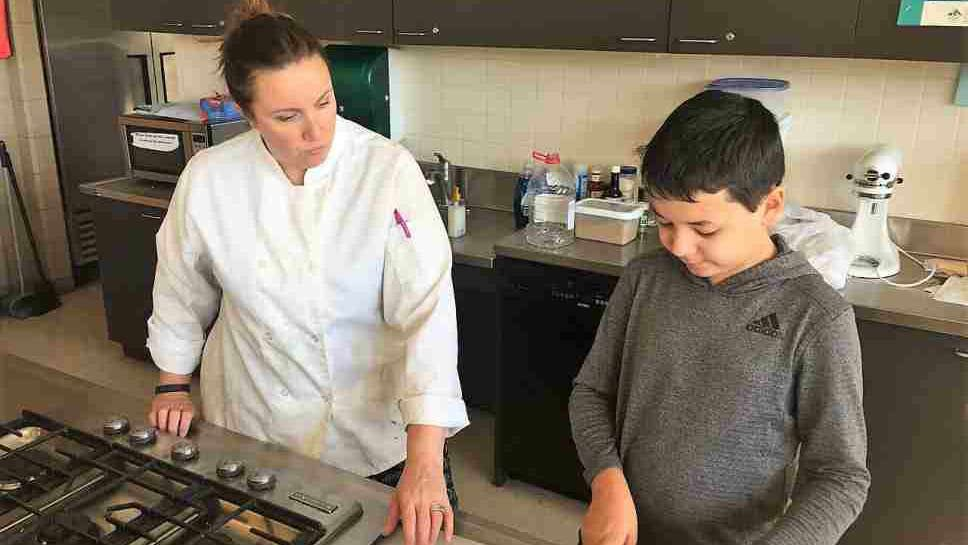 Glenview Student is a 'Chopped Junior'