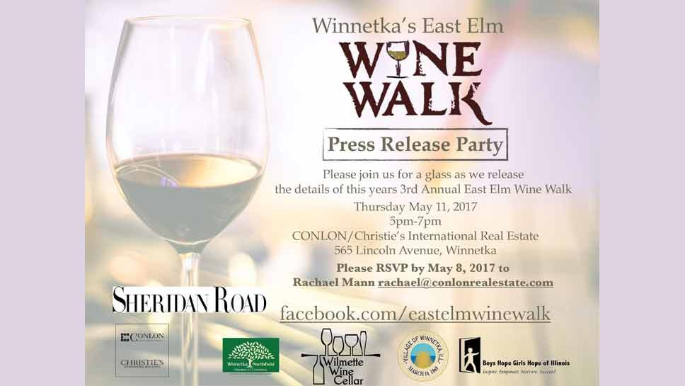 Save the Date: East Elm Wine Walk