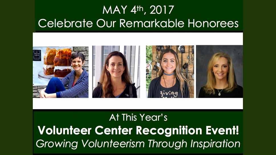 Volunteer Center Honors Four Women