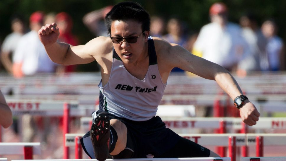 NT's Yen groovin' in the hurdles