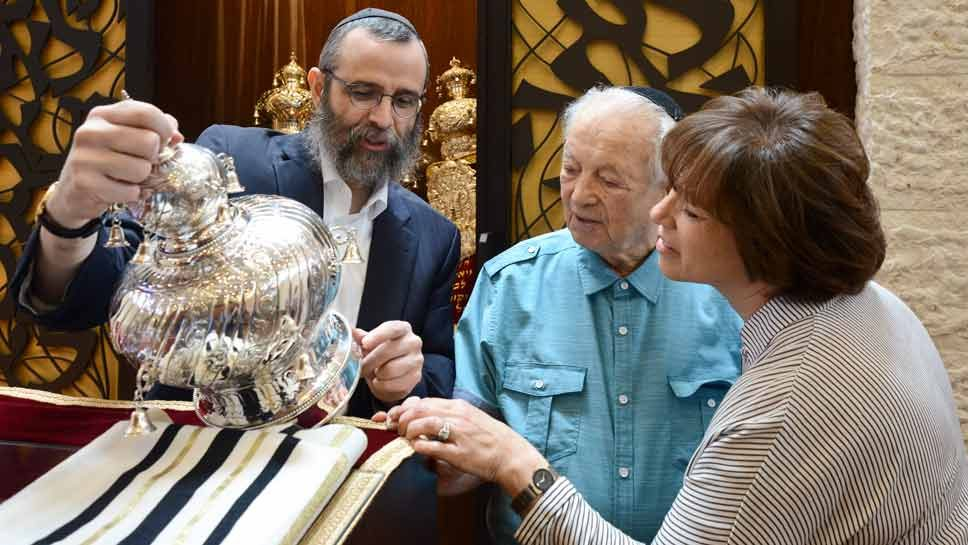 Bar Mitzvah Celebrated at Age 89