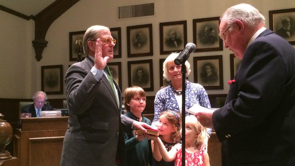 New LF Mayor, Aldermen Take Office