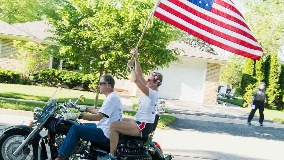Deerfield Freedom Run Supports Soldiers