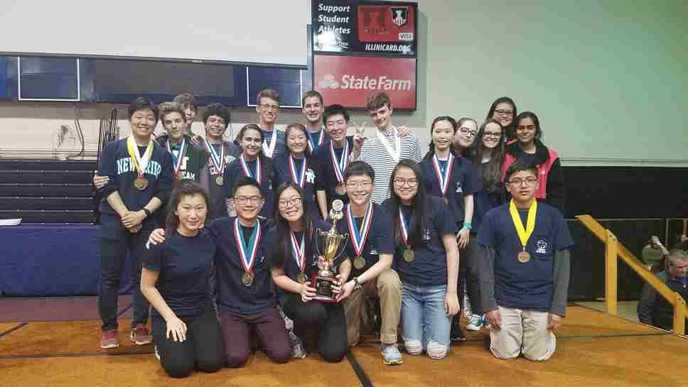New Trier Science Olympiad Team Heads to Nationals