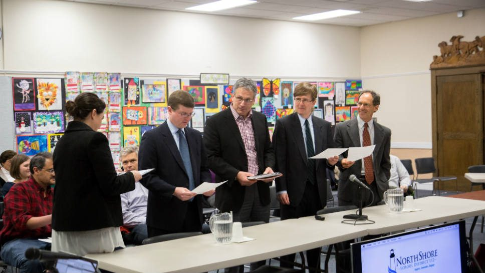 D-112 Board Members Pass The Torch