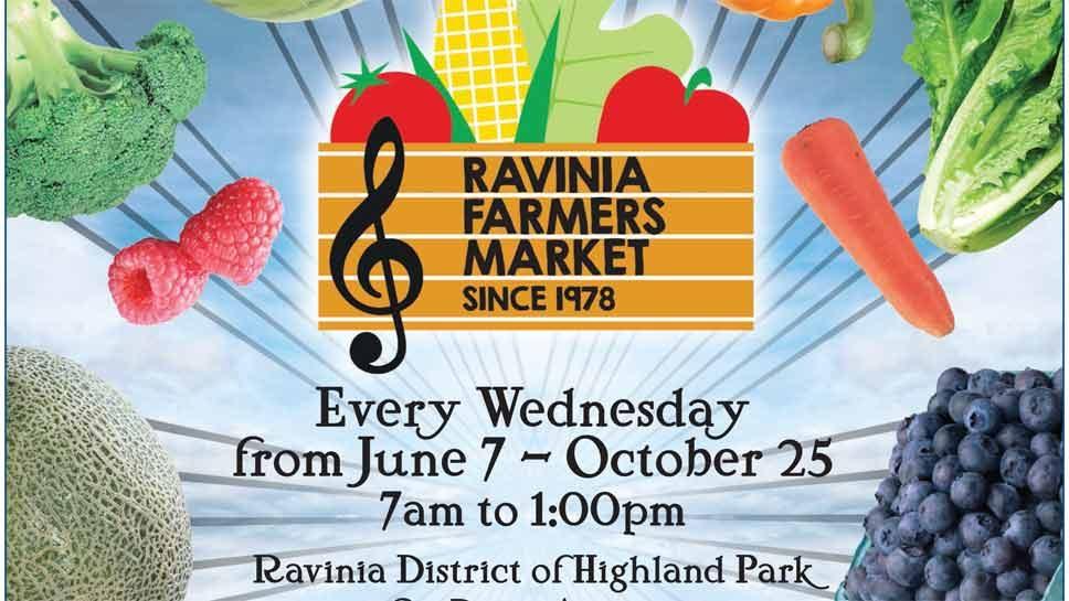 Ravinia Farmers Market Kicks off with Plant Sale