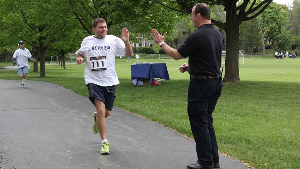 Fun Run Supports ELA Program