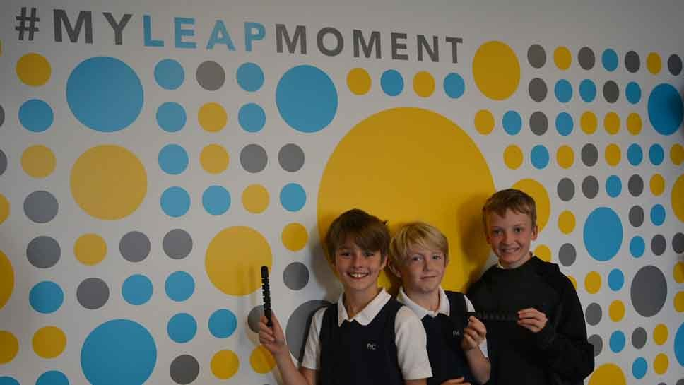 Faith, Hope & Charity Students LEAP at …