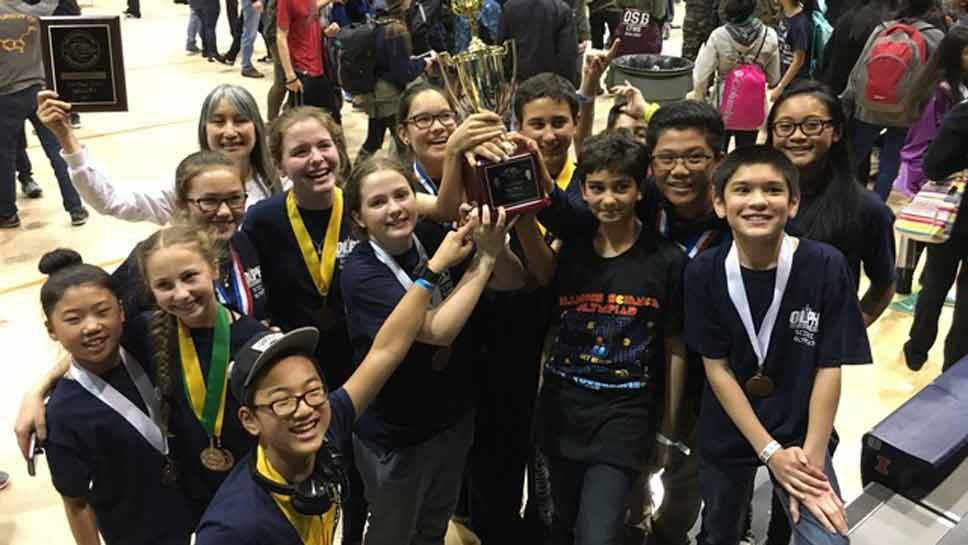 OLPH's Science Olympiad Scores at State