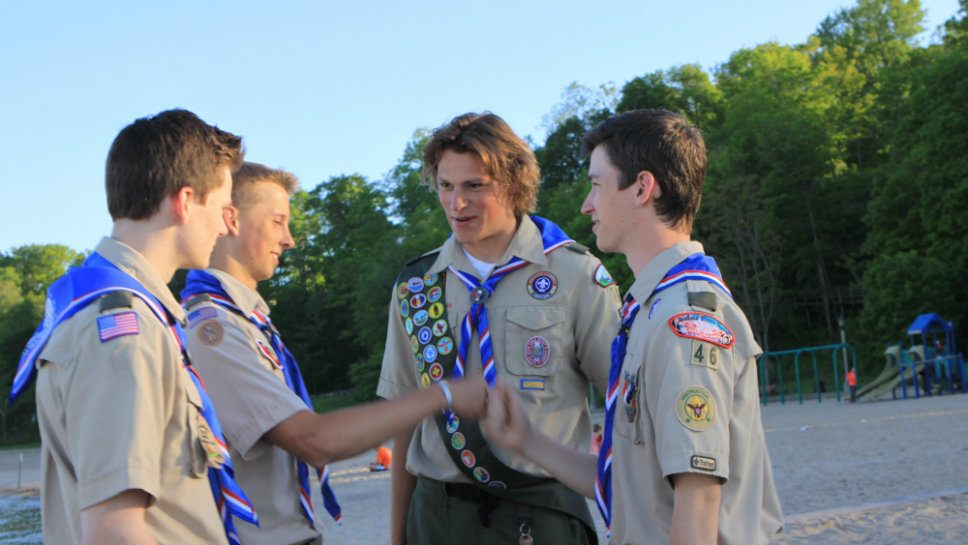 Flock of Eagles: 17 Scouts Aim High
