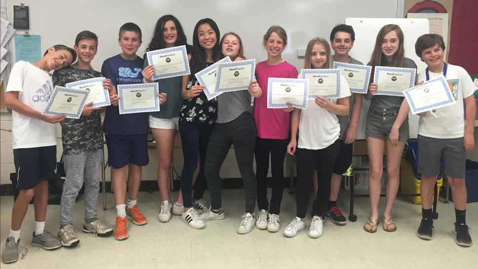 Winnetka Students Master Word Contest