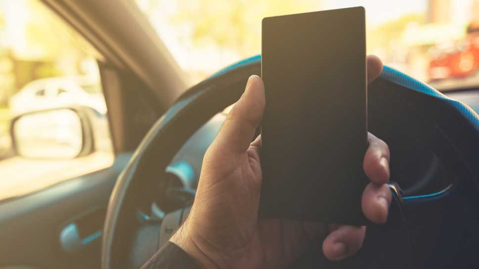Police Departments Attack Distracted Driving