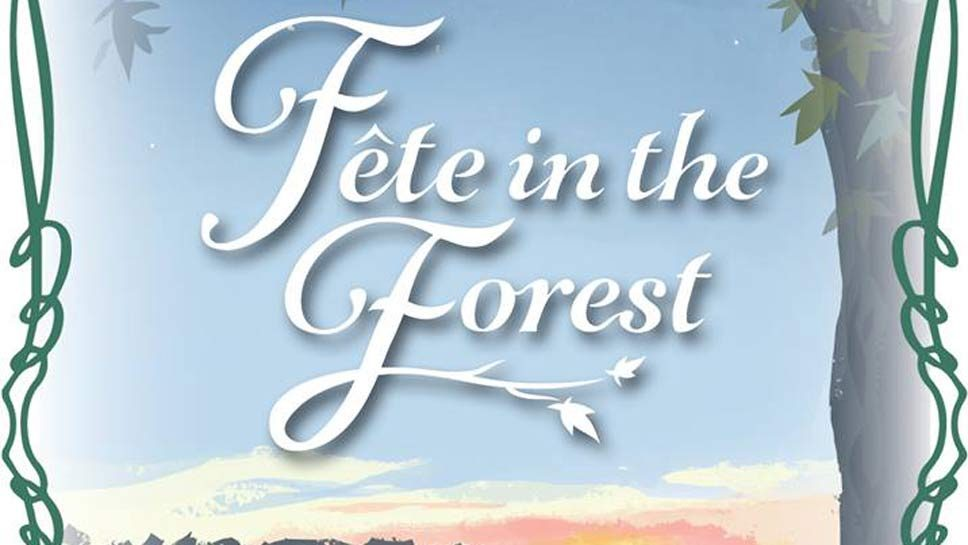 Save the Date: Fête in the Forest