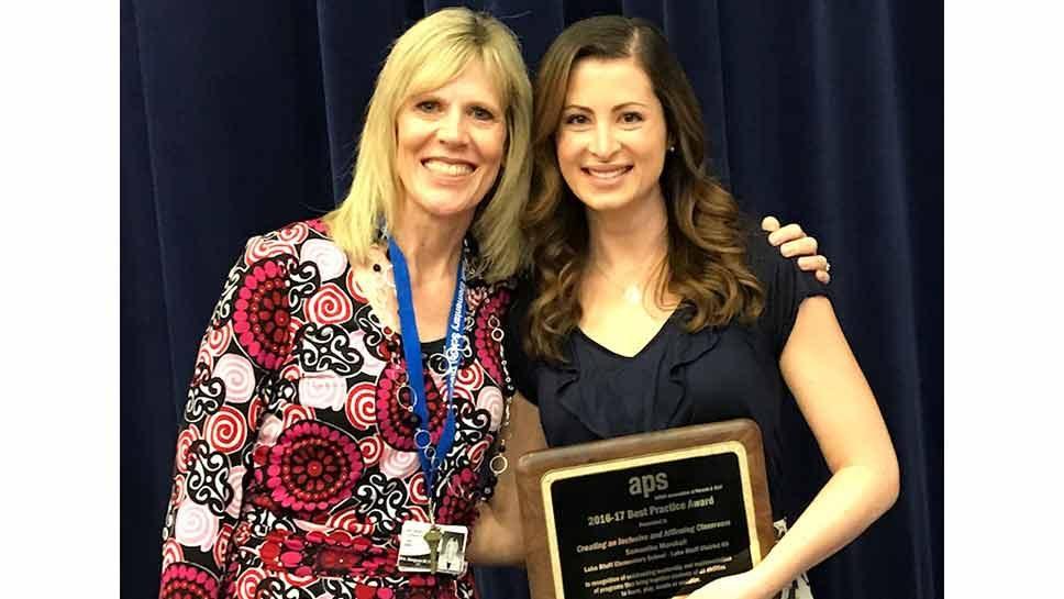 NSED Honors Lake Bluff Teacher