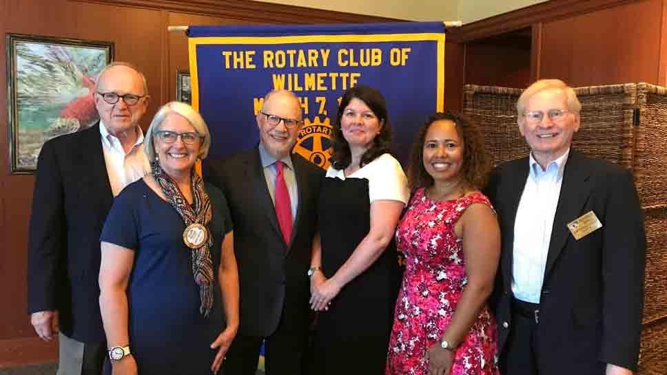 Wilmette Rotary Honors Community Leaders