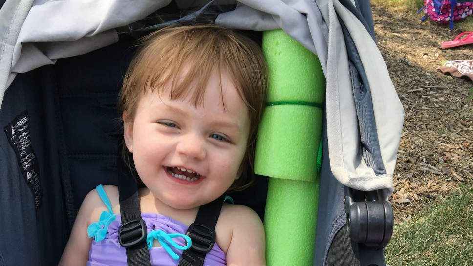 Tot Aims to Help Others with Genetic Disorder