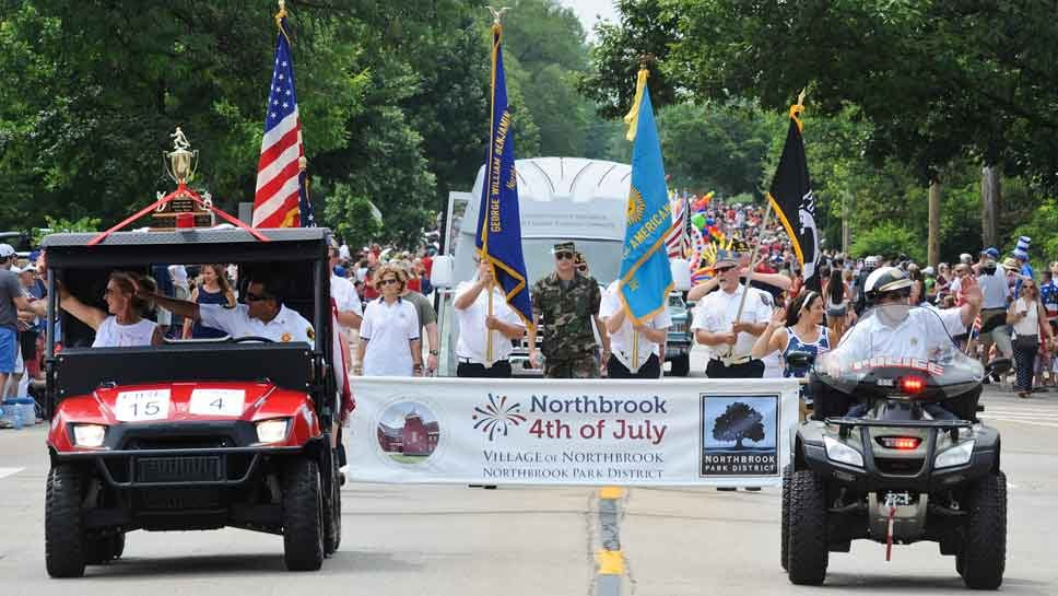 Fine Day for A Parade: Scenes from Northbrook