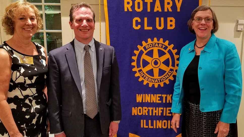Rotary Club of Winnetka-Northfield Installs New …