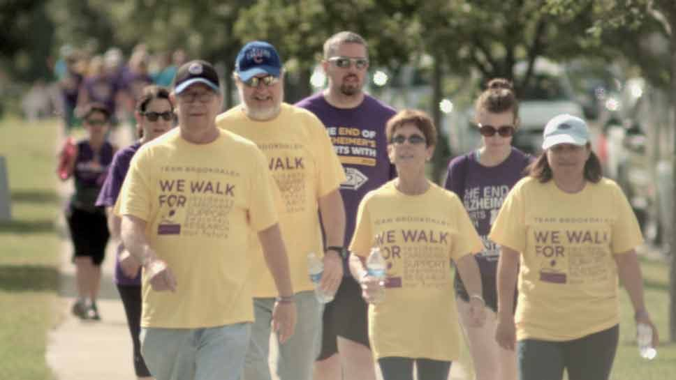 'Walk to End Alzheimer's' …