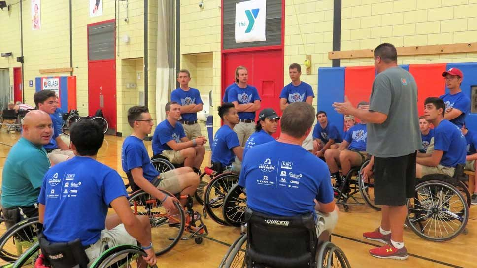 Journey of Hope Wheels Into Town