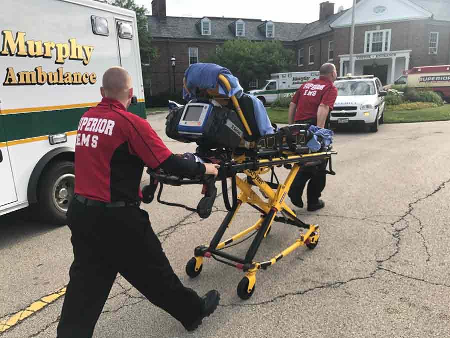 northwestern medicine lake forest hospital being evacuated