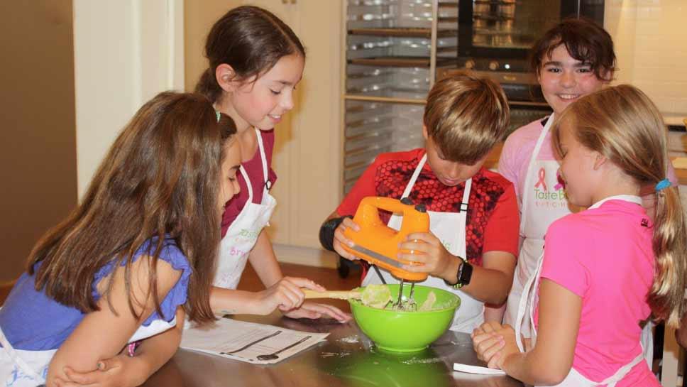 Cookie Goodness at Taste Buds Kitchen Camp