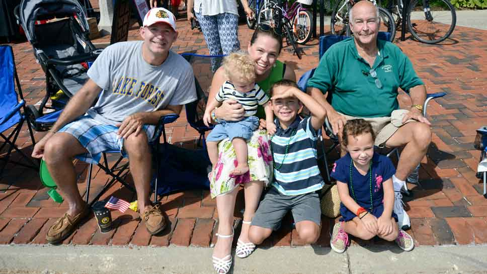 tradition, community on display at 109th lake forest day