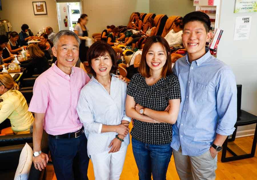 Beloved Family Returns to Lotus Nails