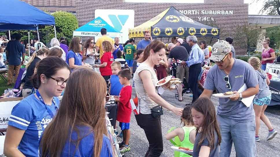 Record Crowd Enjoys 'Party at the Y'