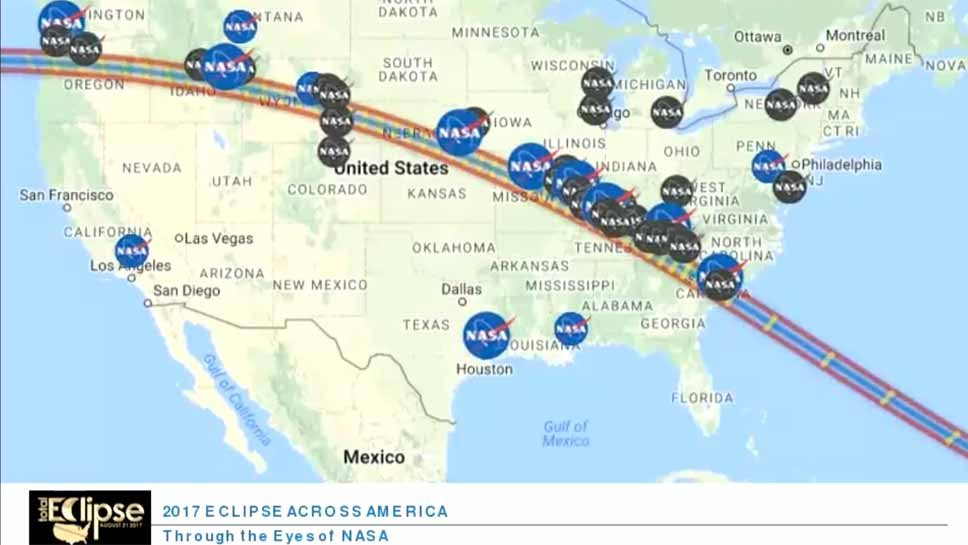 NASA Pairs With Hadley for Eclipse