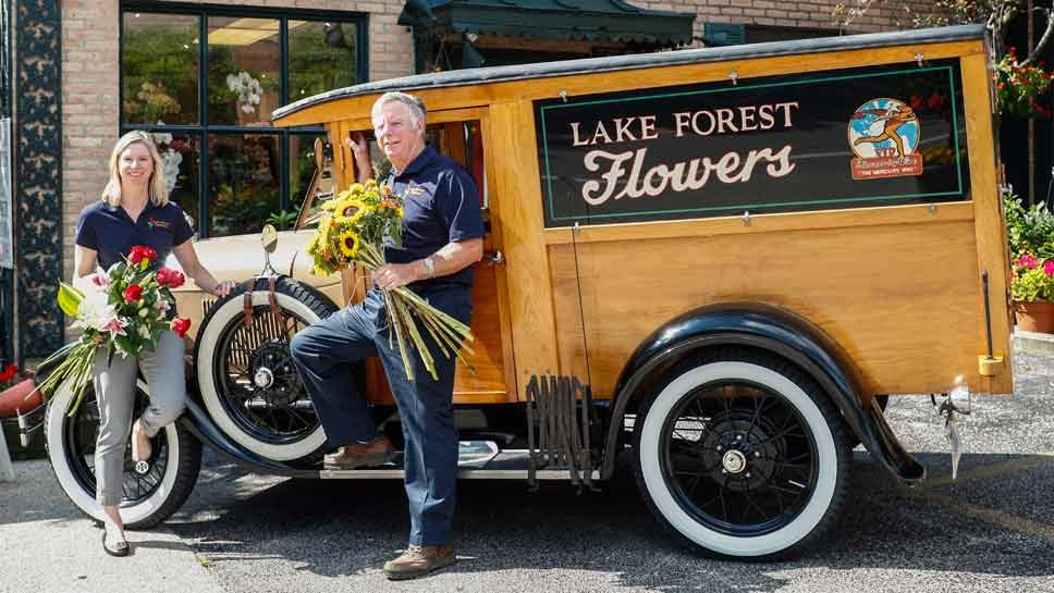 Lake Forest Flowers To Celebrate 100 Years