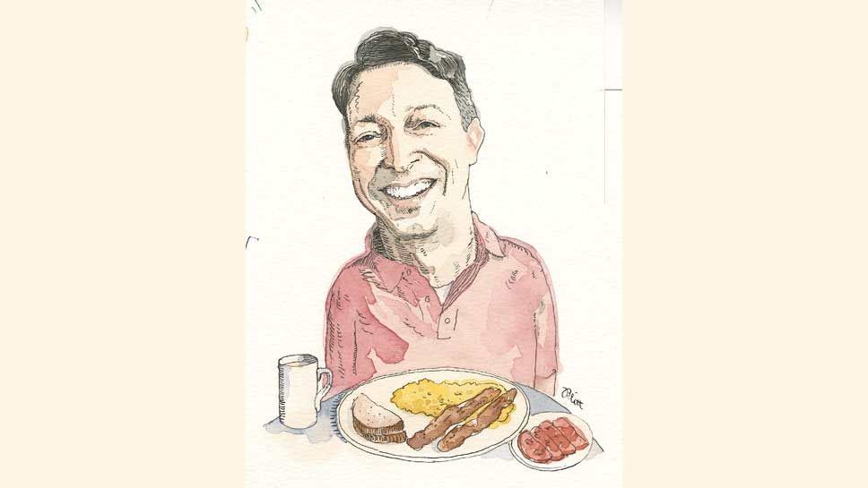 Sunday Breakfast with Lou Pasquesi