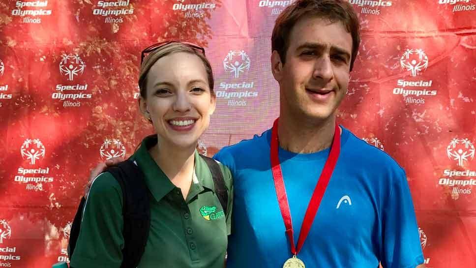 Deerfield Tennis Player Wins Gold