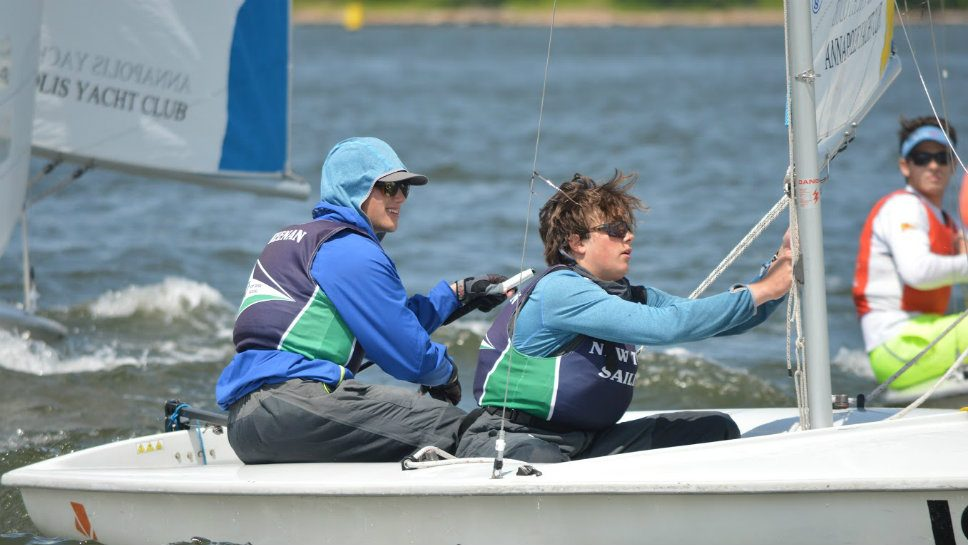 Competitive sailor Keenan stays the course