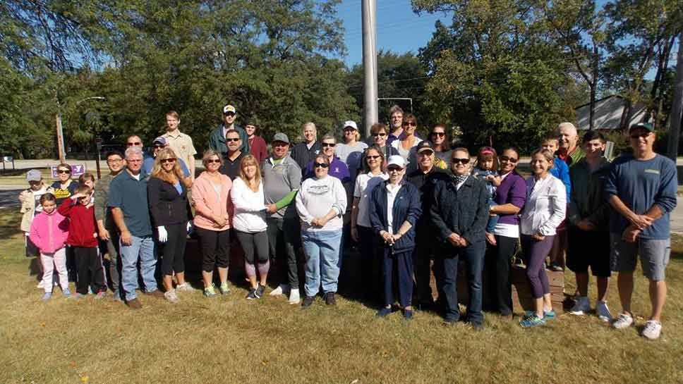 Volunteers Honor 9/11 Heroes at YMCA