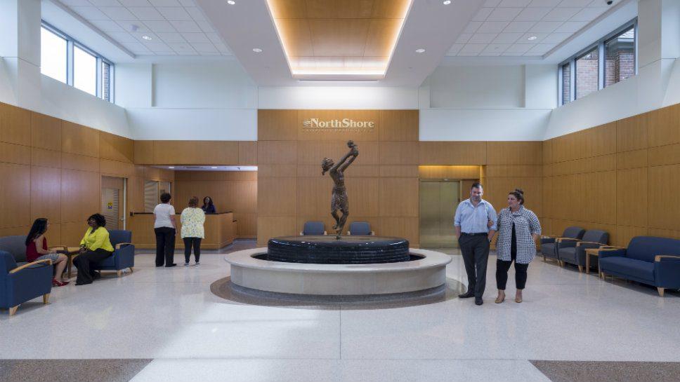 HP Hospital Unveils Rehabbed Facility
