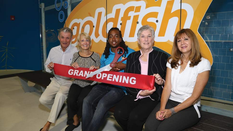 Grand Opening Goldfish Swim School – Northbrook