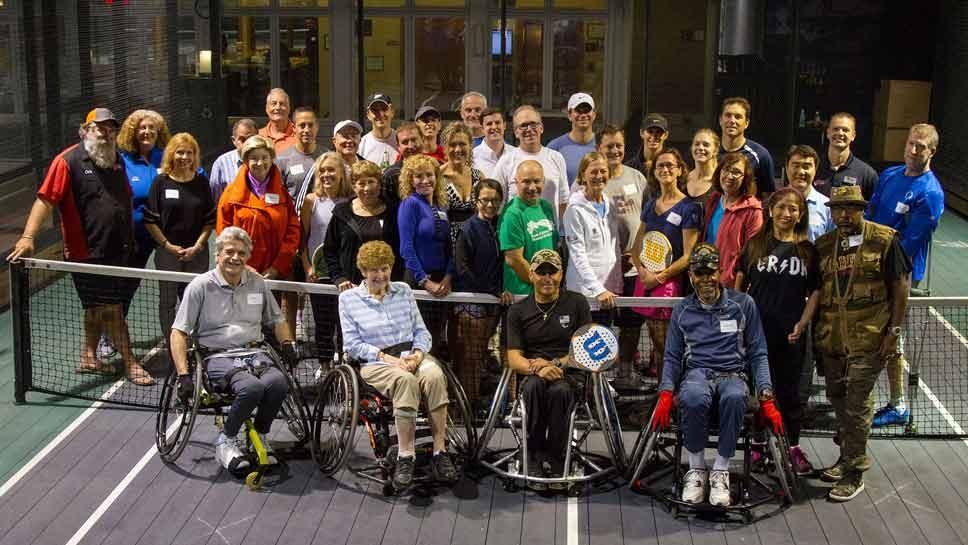 Adaptive Adventures Platform Tennis