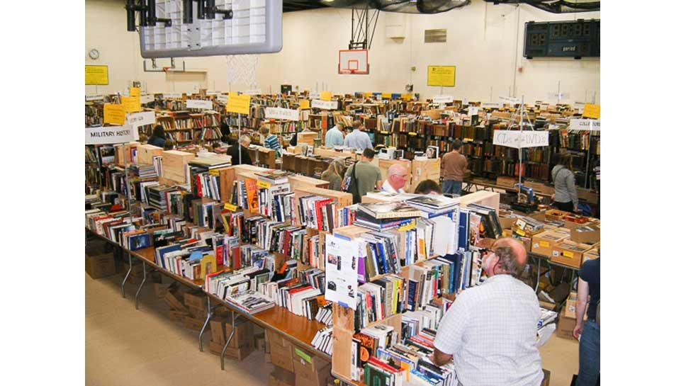 LF Library Book Sale Opens Thursday