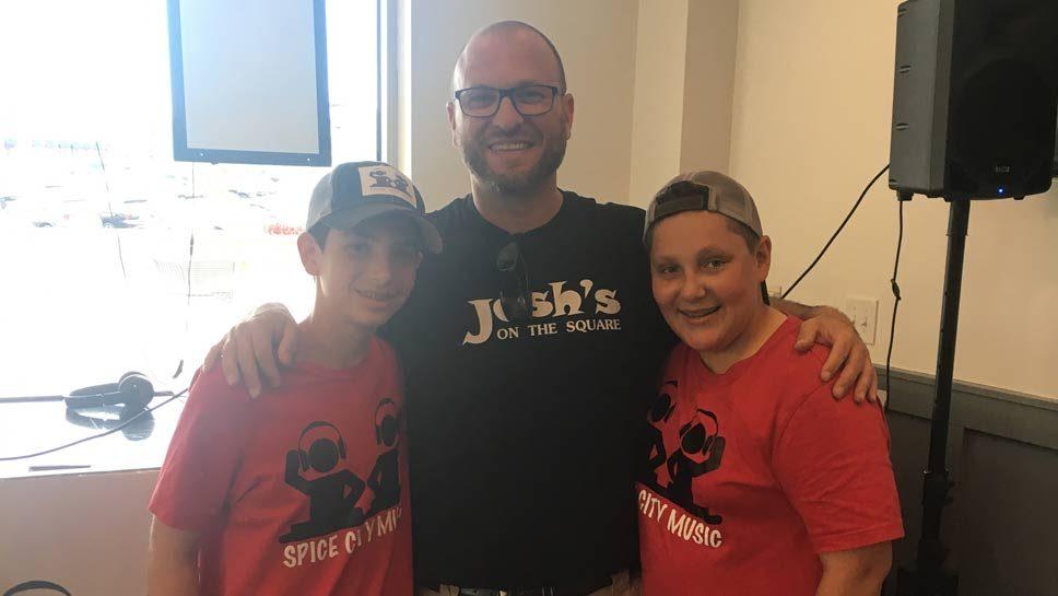 Hot Dog DJs Help Josh's Collect School …
