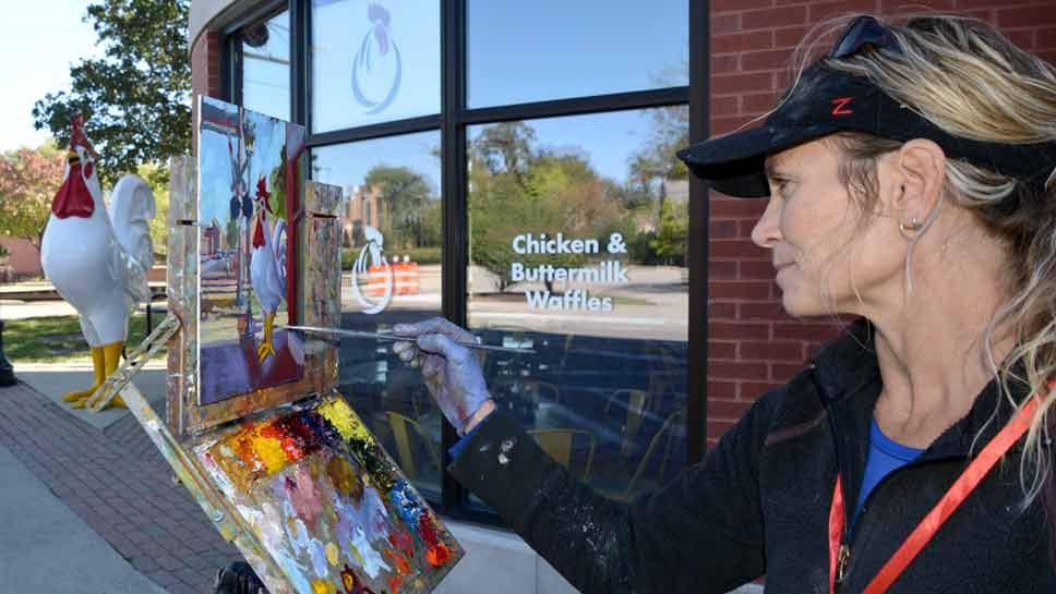 Northbrook Welcomes Artists to Paint the Town