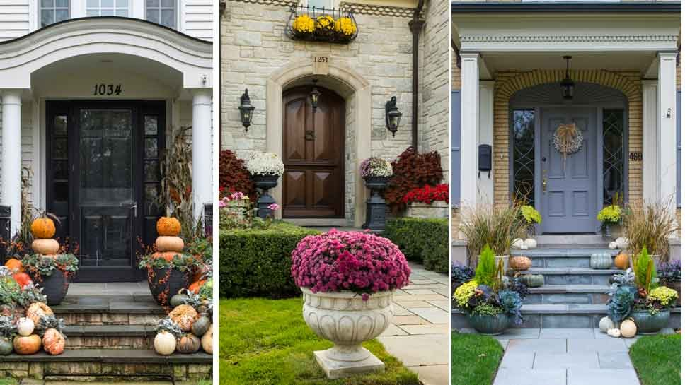 Front Stoop: Prime Real Estate for Fall