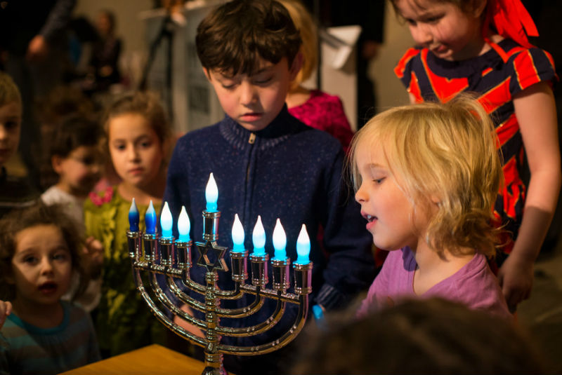 Menorah Lighting at Liberty Station to Mark First Night of Hanukkah