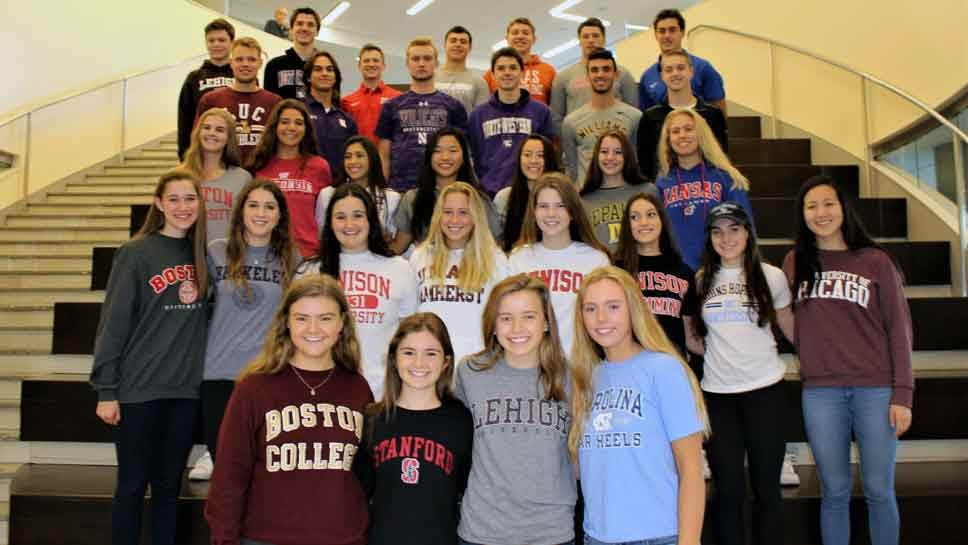 New Trier Athletes Commit to Colleges