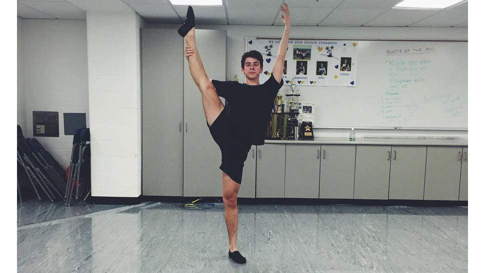 Boy Dancer Makes 'His'-tory at LFHS