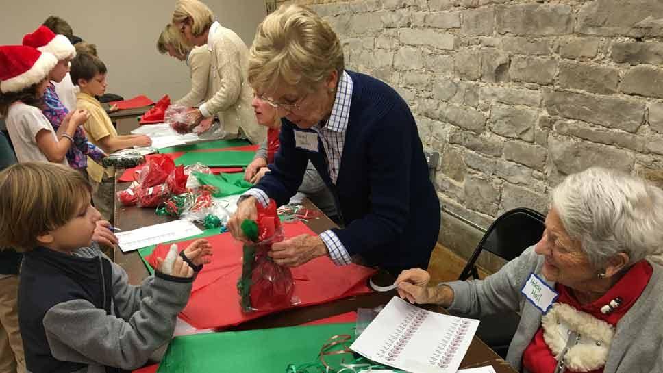 Gorton Hosts Kids-Only Holiday Shop