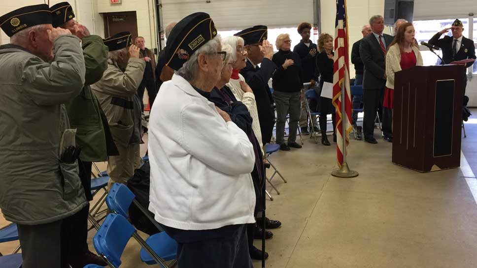 Veterans Day Marks Change of Guard in LB