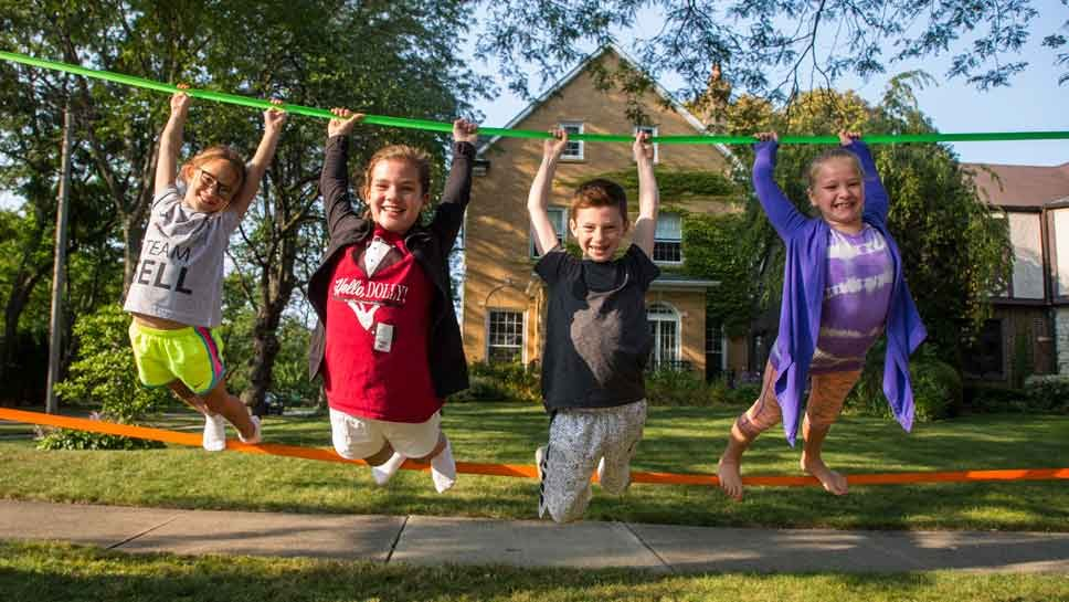 Top Story: Slack Lining Picks up Speed