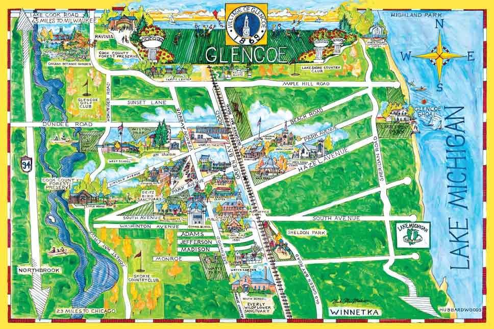 Shop Local: McMahon Village Maps